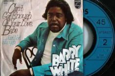 Barry White – Can't Get Enough Of Your Love Baby.